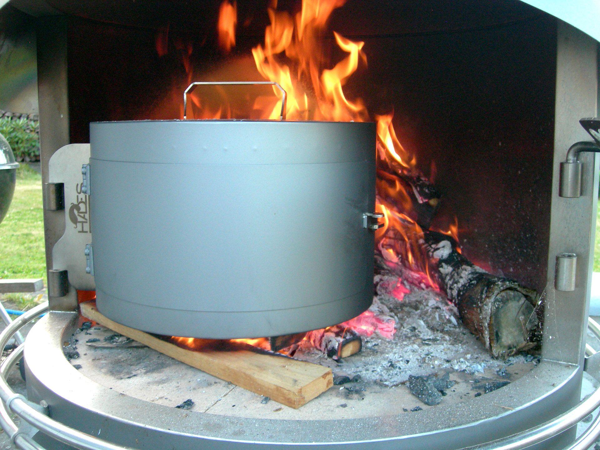 Barbecue Cheminée Dextérieure Nicolazi Star Fire à Villefrance