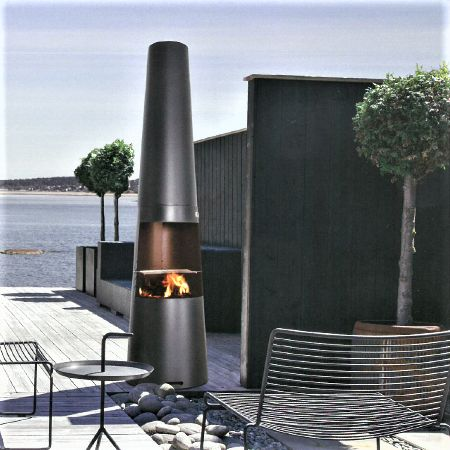 Cheminee D Exterieur Jotul Frigg Option Grille Barbecue Region
